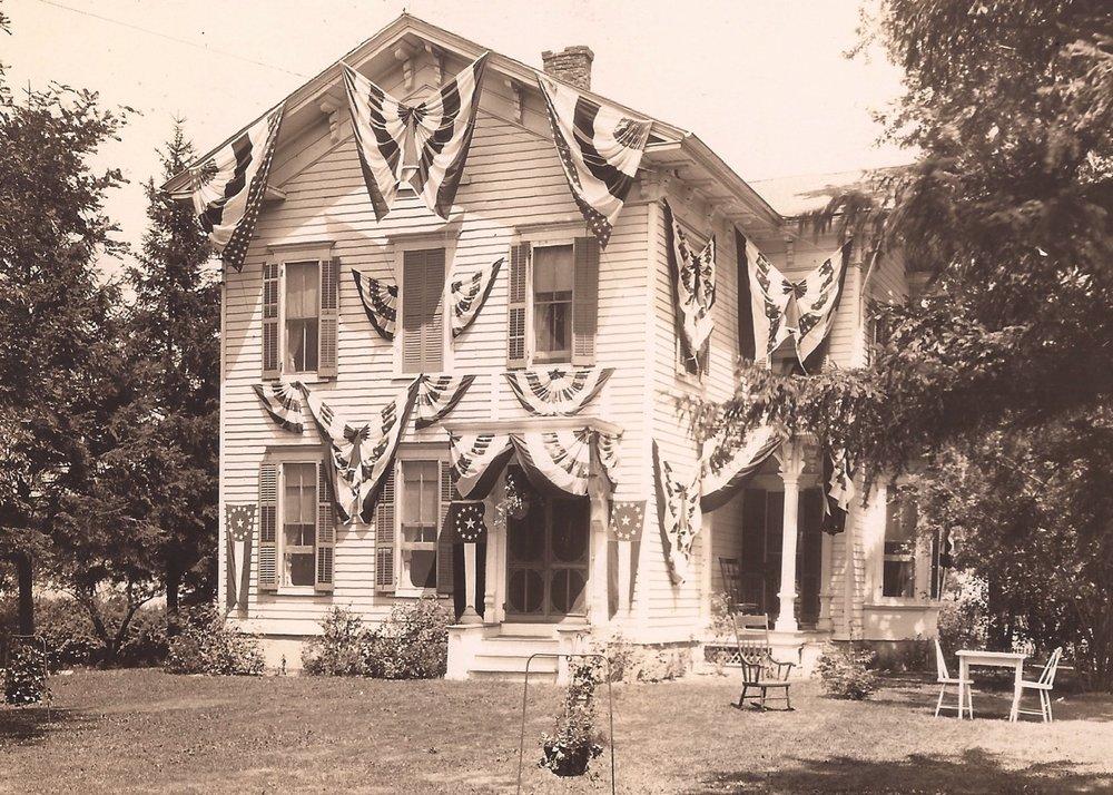 The Jolly Farmer, 5240 E. Avon Road, now a community residence. Photo courtesy of the Livingston County Historian
