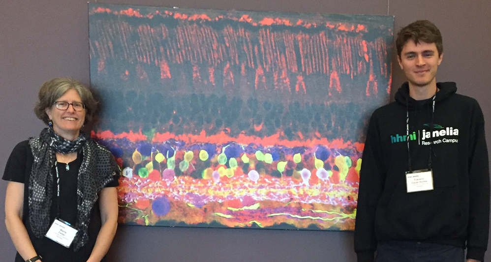 Incredible neuroscience related artwork -- we even found a painting of a retina