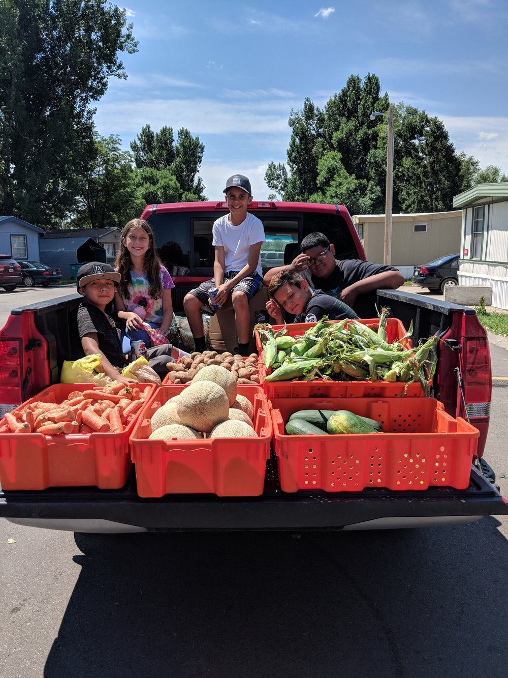 About - Find out about our organization,mission, our methods, and the results of our decade of relationship building.We've had the amazing experience of providing over 20,000 pounds of produce to families in need! Find out how.