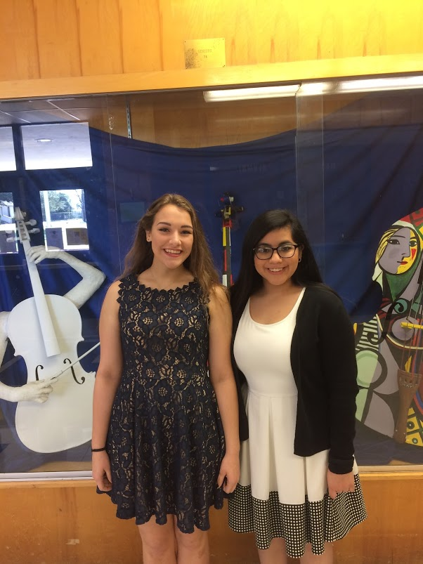Two of our State Solo and Ensemble participants. Congratulations Issie and Veronica!