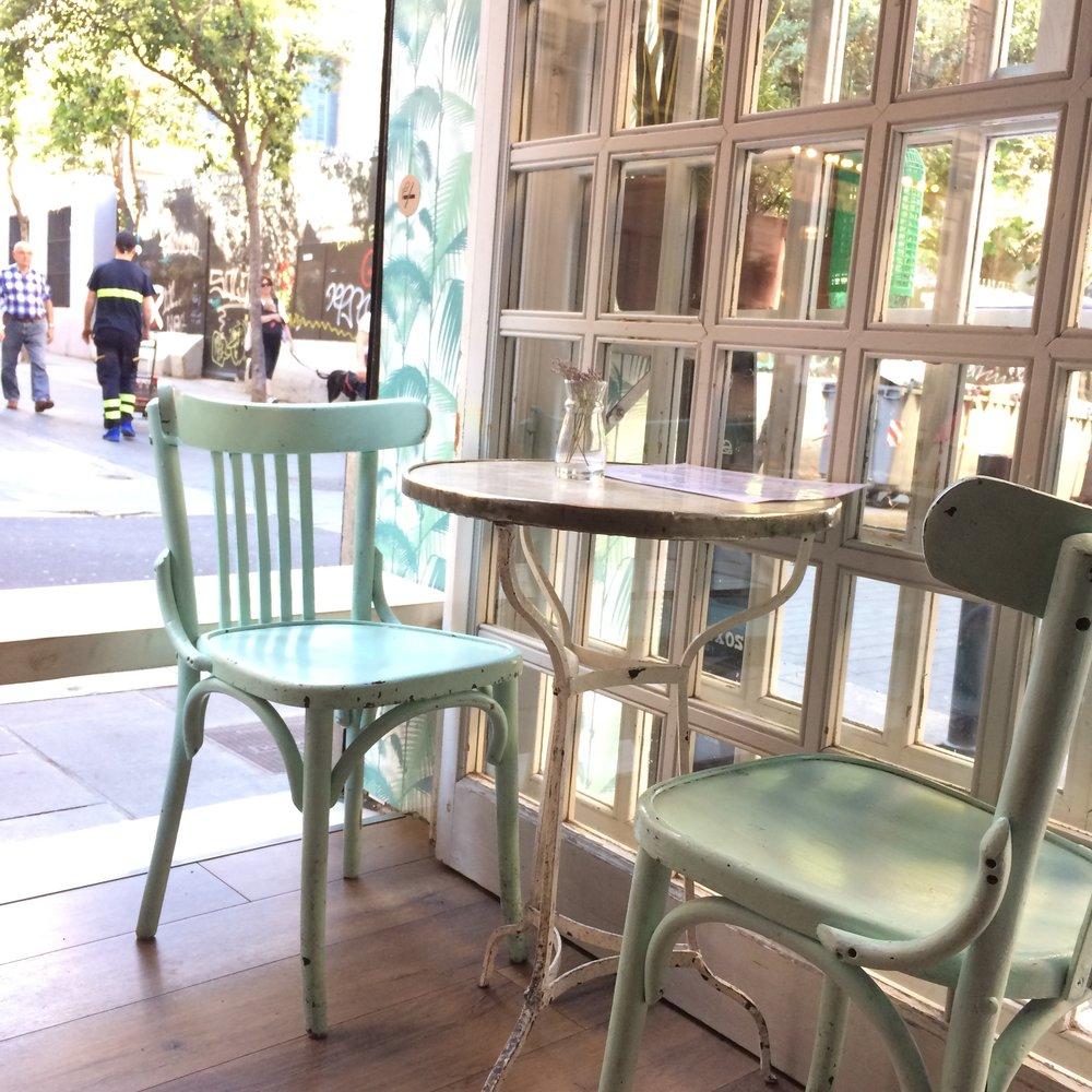 el cafè del teatre, Gràcia