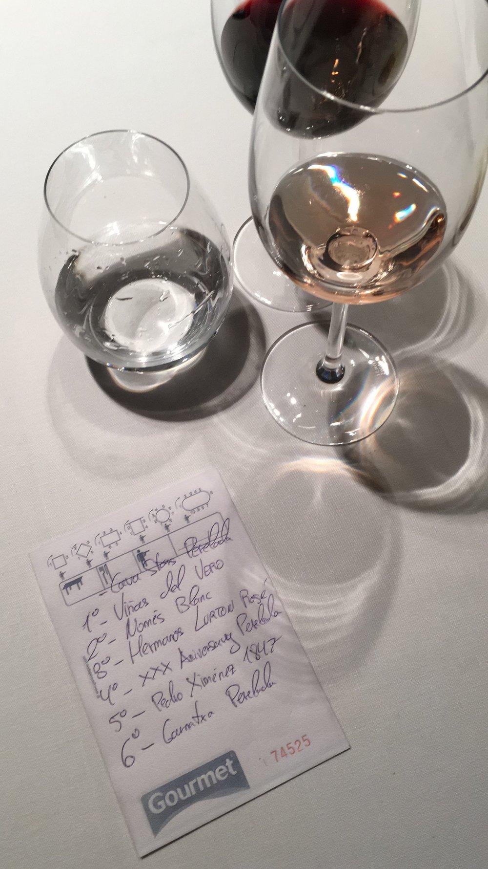 Wines at Castell Peralada