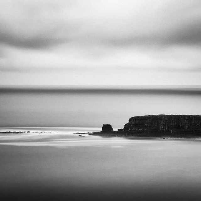 Otter Rock, OR | 2015 Diptych pt.1 *View yesterday's post for pt.2*  #oregoncoast #monochrome #landscape #longexposure #pnw #oregon #fineart #bw #blackandwhite #island #ocean #canon #70d #formatthitech #oregonnw