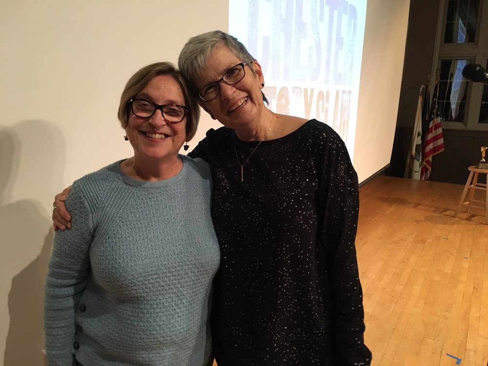Cynthia Angst and Diane Yannick won the title of 2018's Best Storytellers in West Chester.
