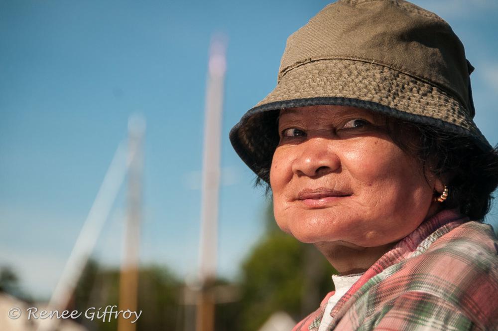 Fisherwoman, Rockport, ME