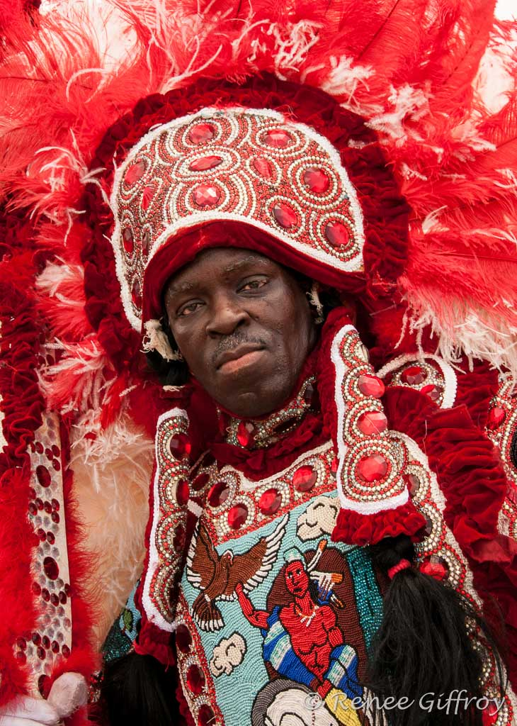 Mardi Gras Indian, New Orleans, LA