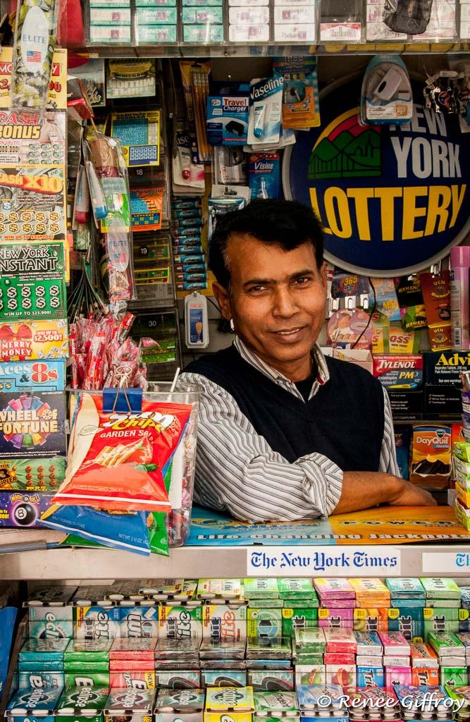 Street Vendor, NY, NY