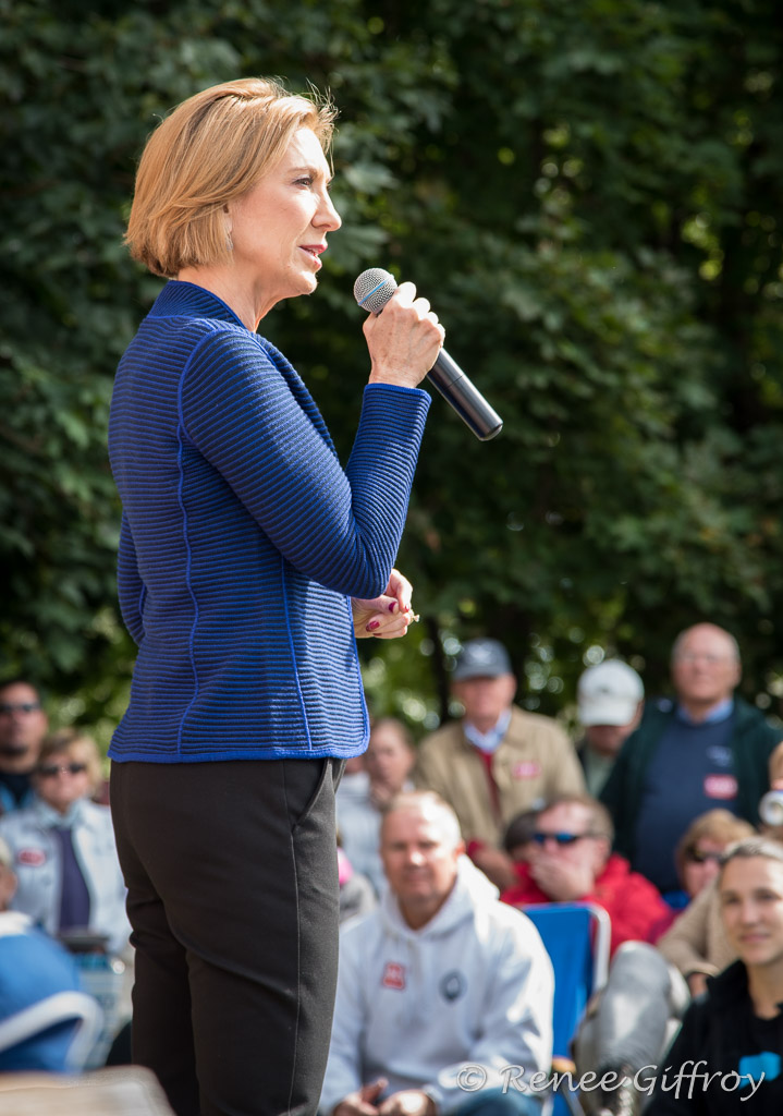 Carly Fiorina in Rye, NH