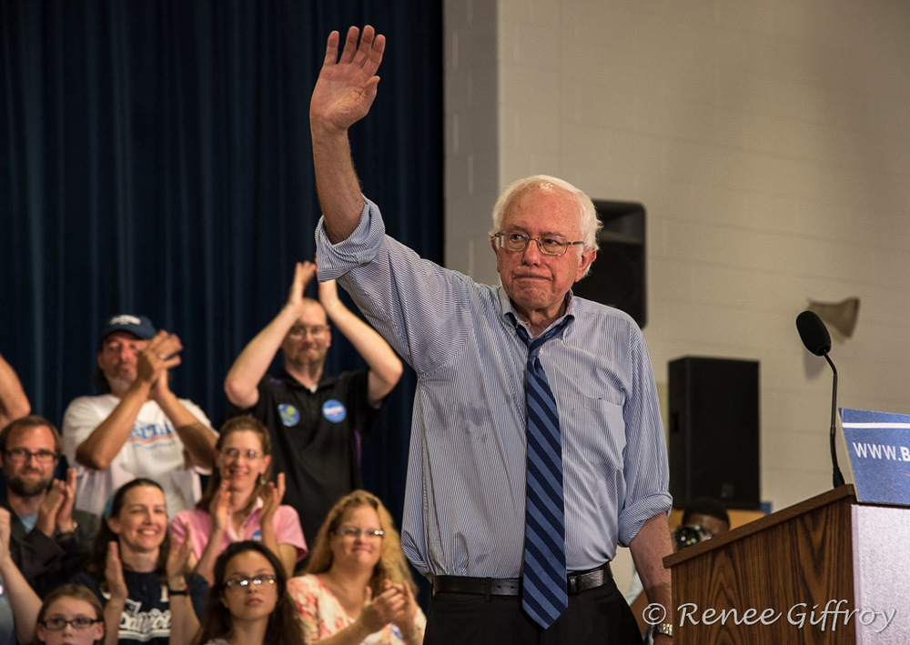 Bernie Sanders in Seabrook, NH