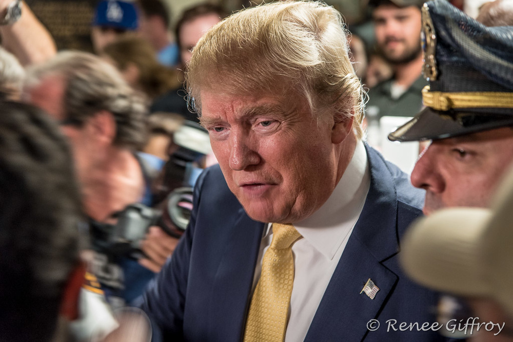Donald Trump in Rochester, NH