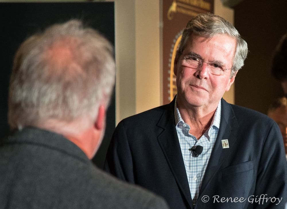 Jeb Bush in Concord, NH