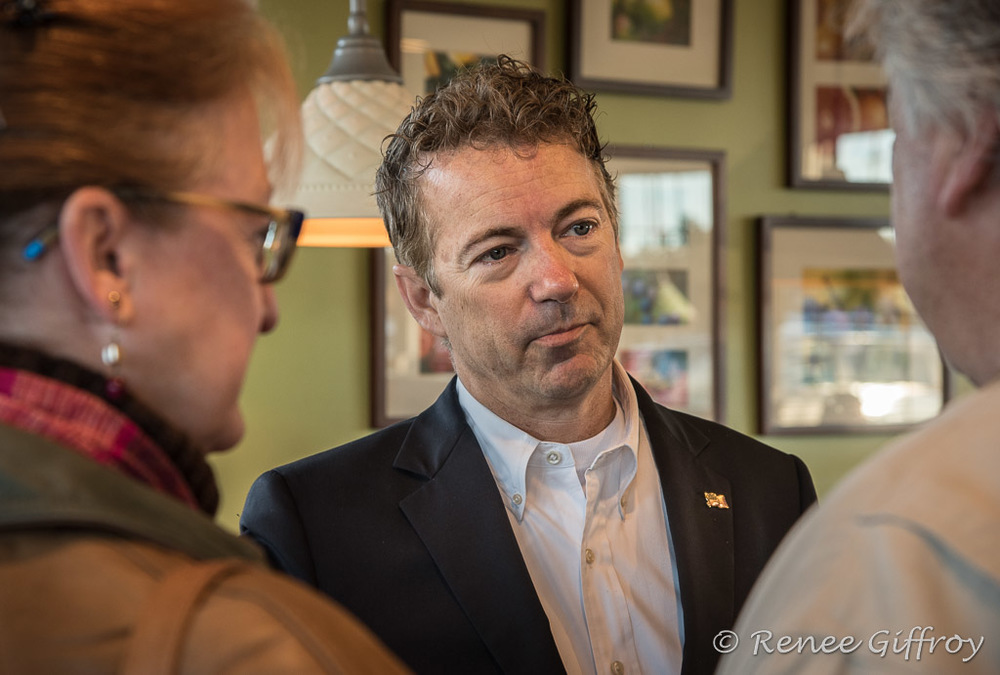 Rand Paul in Hooksett, NH