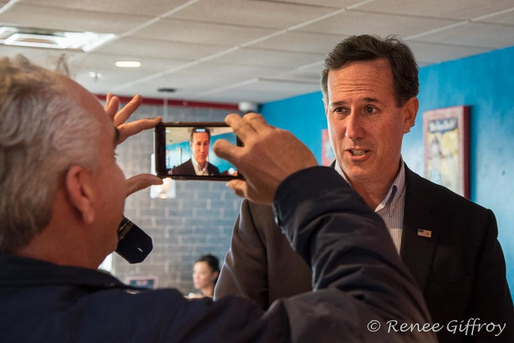 Rick Santorum in Portsmouth, NH