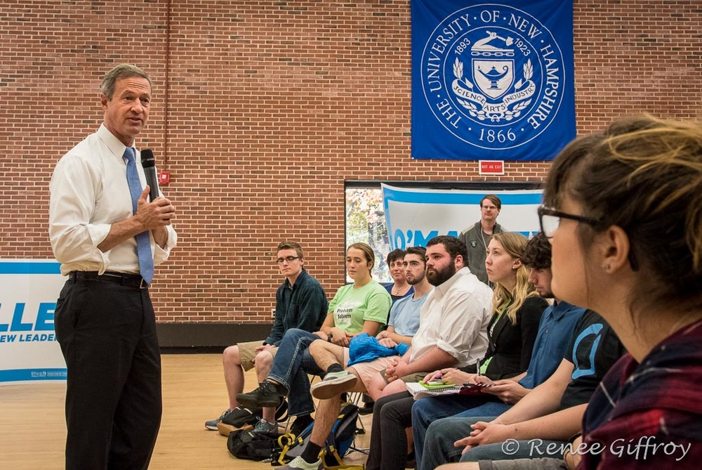 Martin O'Malley in Durham, NH