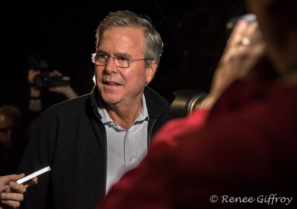 Jeb Bush in Rye, NH