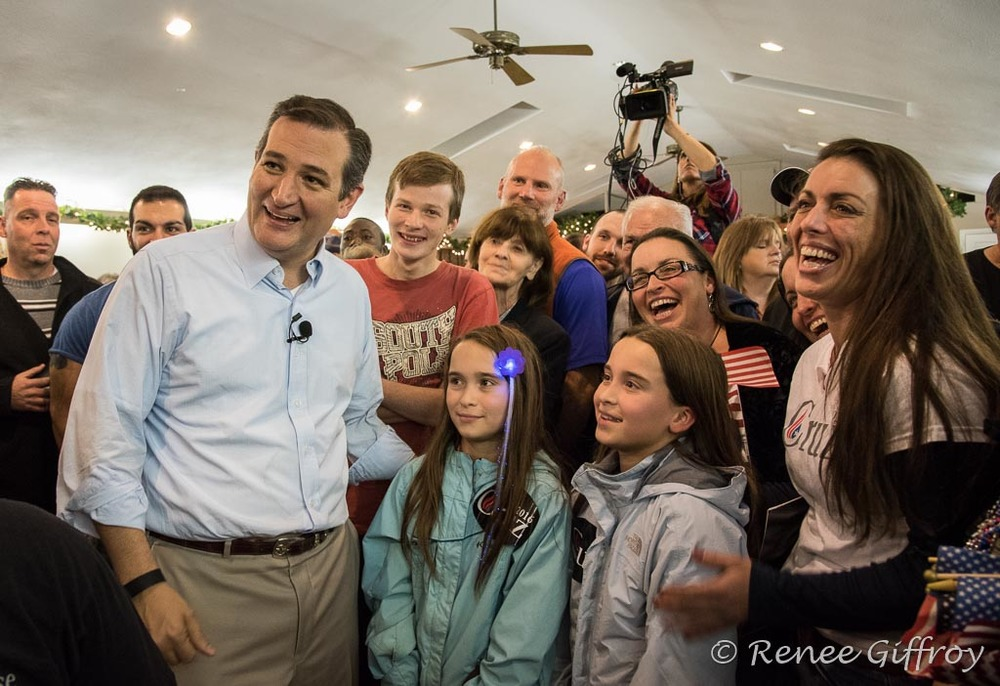 Ted Cruz in Kingston, NH