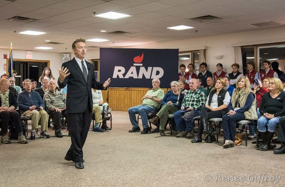 Rand Paul in Portsmouth, NH