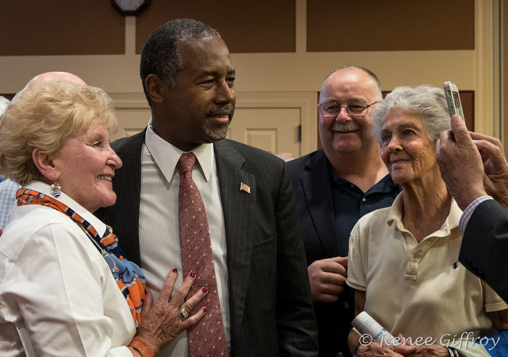 Ben Carson in Exeter, NH