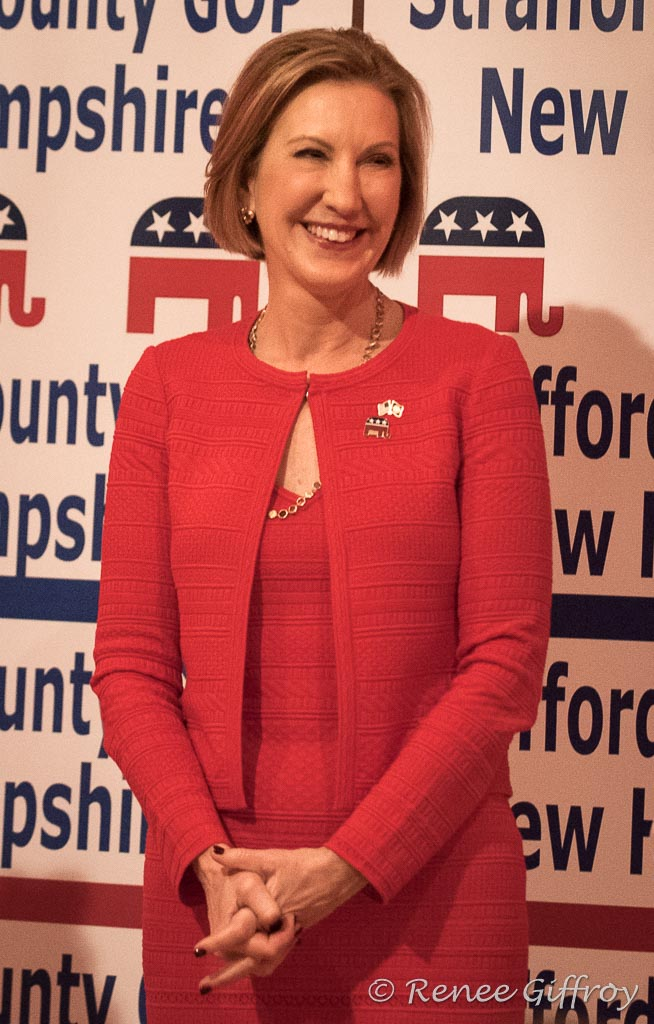 Carly Fiorina in Dover, NH