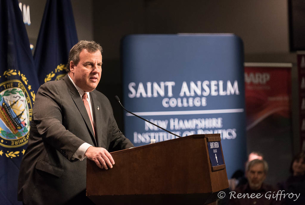 Chris Christie in Manchester, NH