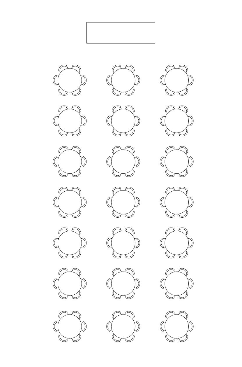 Bordoppsett selskap: Runde bord