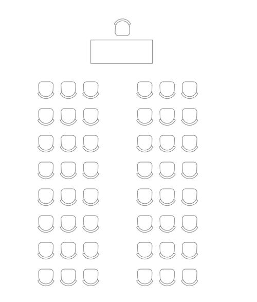 Bordoppsett konferanse: kino