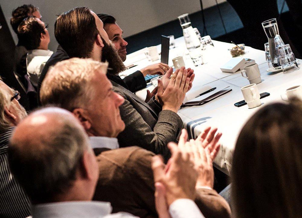 Arranger workshop og seminar i inspirerende omgivelser.
