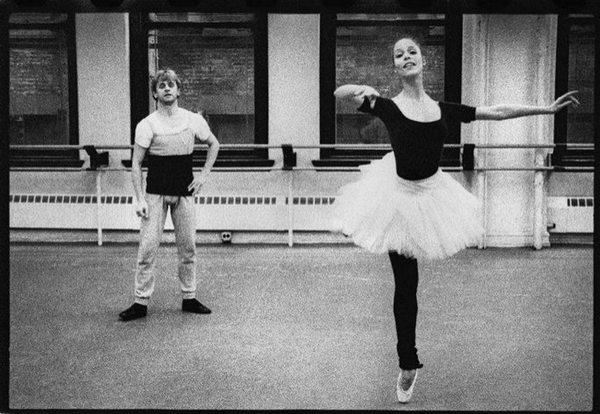 Mikhail Baryshnikov and Susan Jaffe, photo credit: Paul B Goode