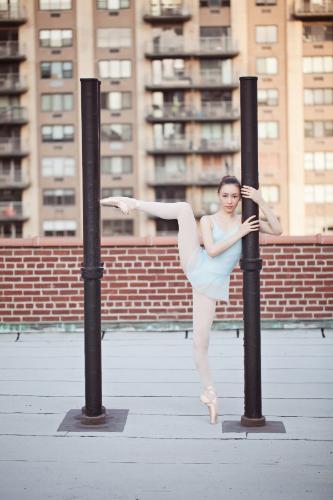 FLX Model Julia Lipari, Paris Opera Ballet. | Photography: Renata Pavam