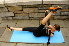 Flexistretcher Abdominal Exercise