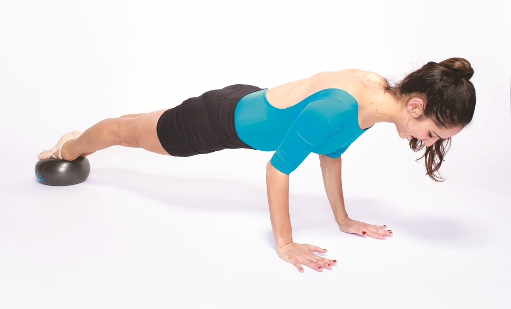 FLX Ball plank and pushup