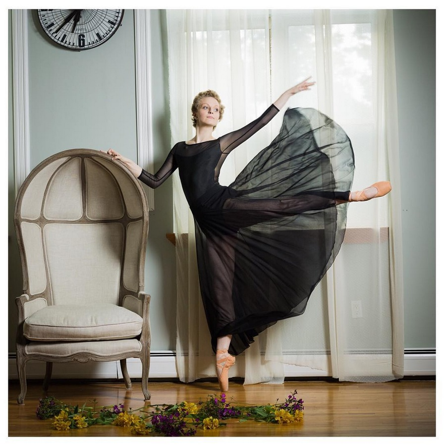 The Bald Ballerina, Maggie Kudirka. | PC: Andrew Holtz Photography