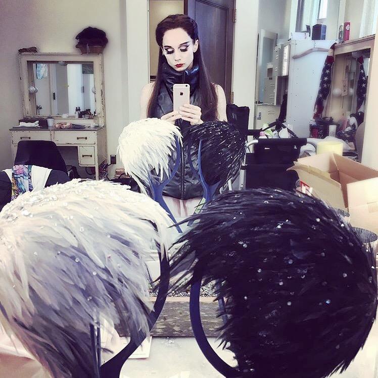 REGRAM.#ballerina #MariaKochetkova#backstage #style #OdileVest
