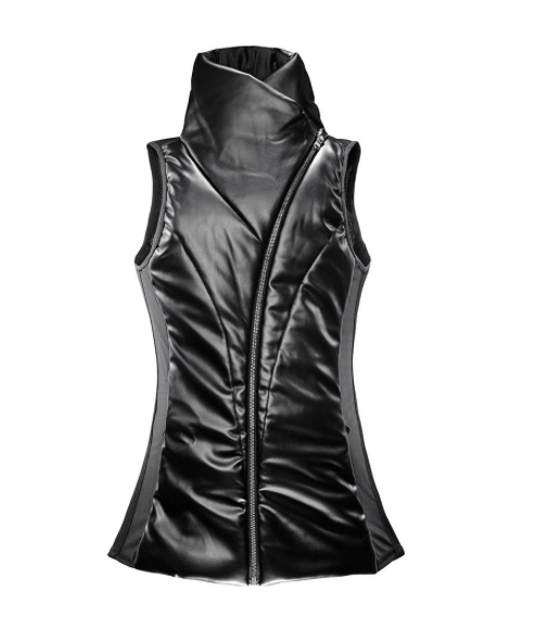 Leather Odile Vest