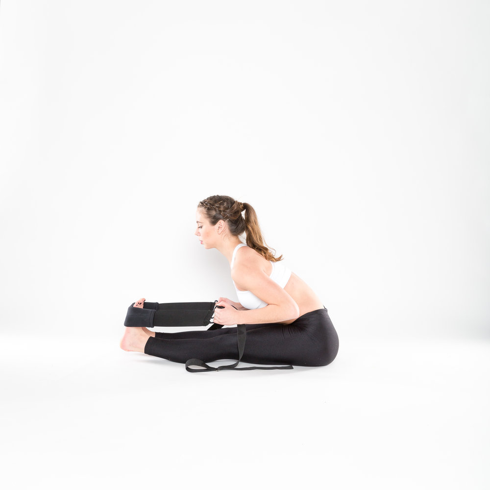 4.) SEATED FORWARD FOLD