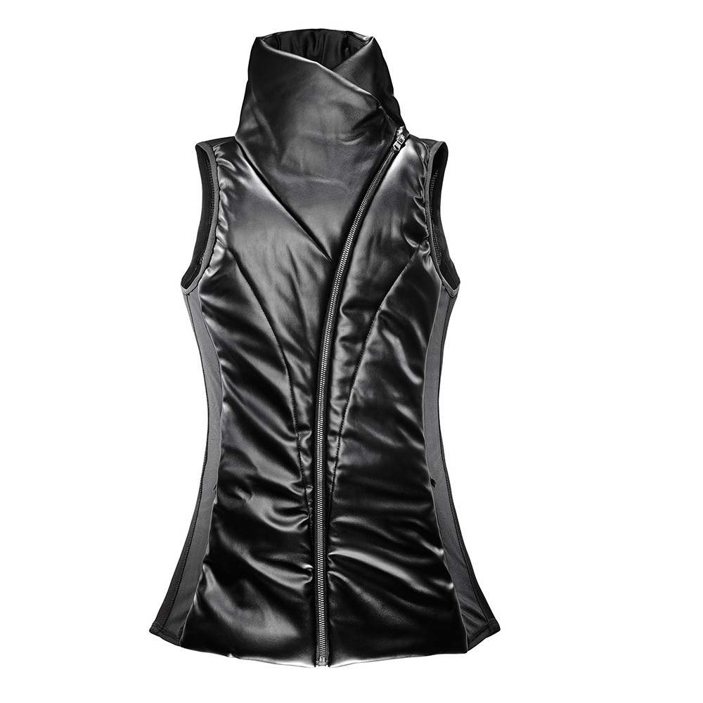odile vest leather
