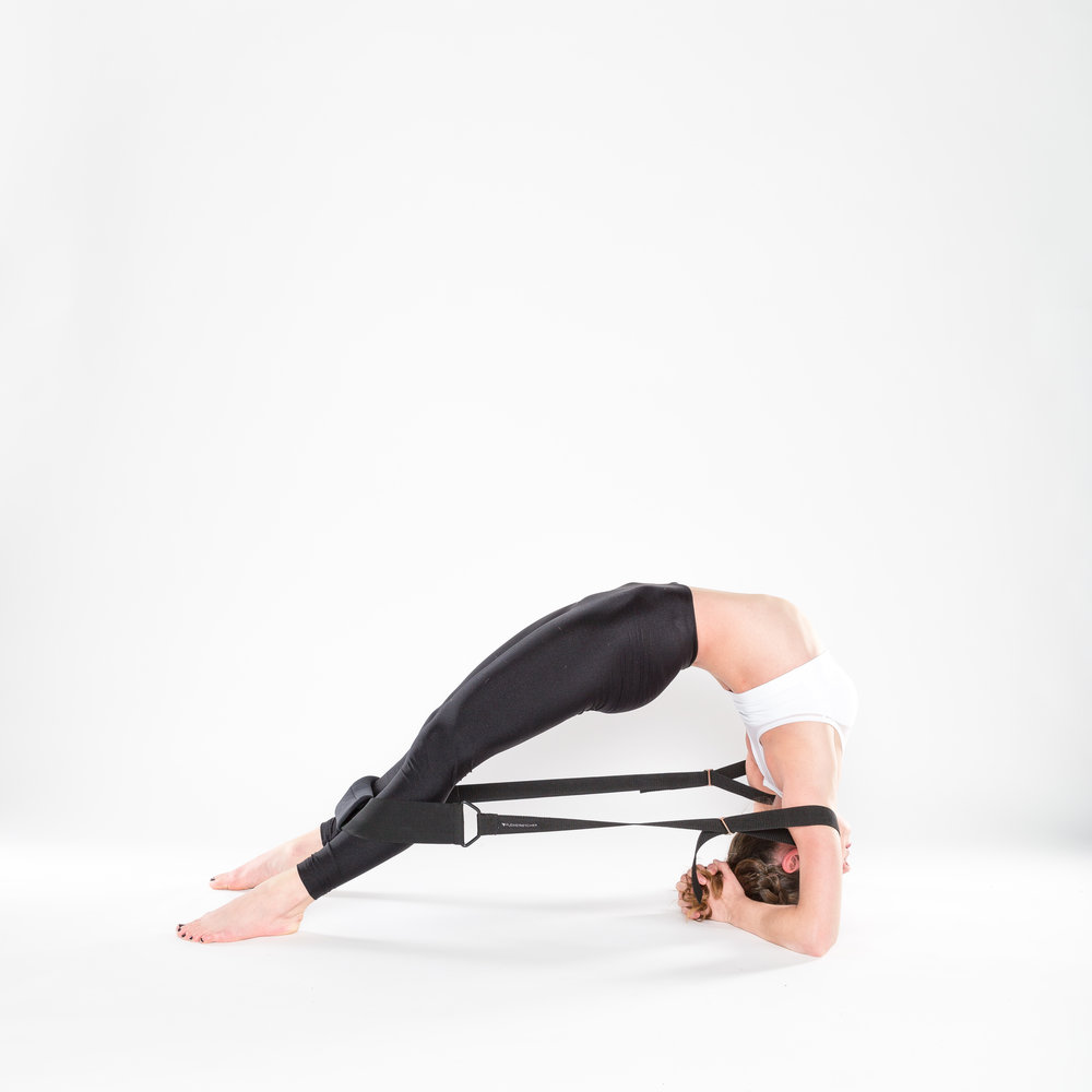 Flexistretcher forearm backbend