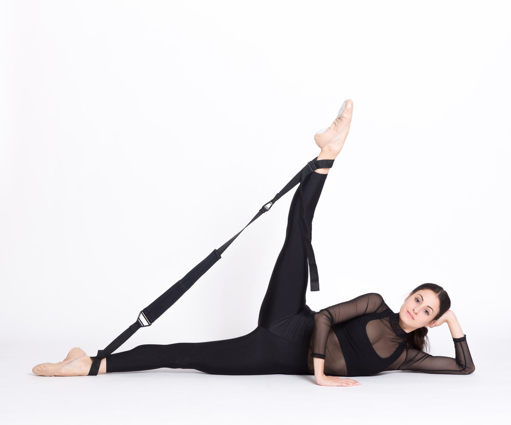 melanie hamrick of abt with flexistretcher 2.0
