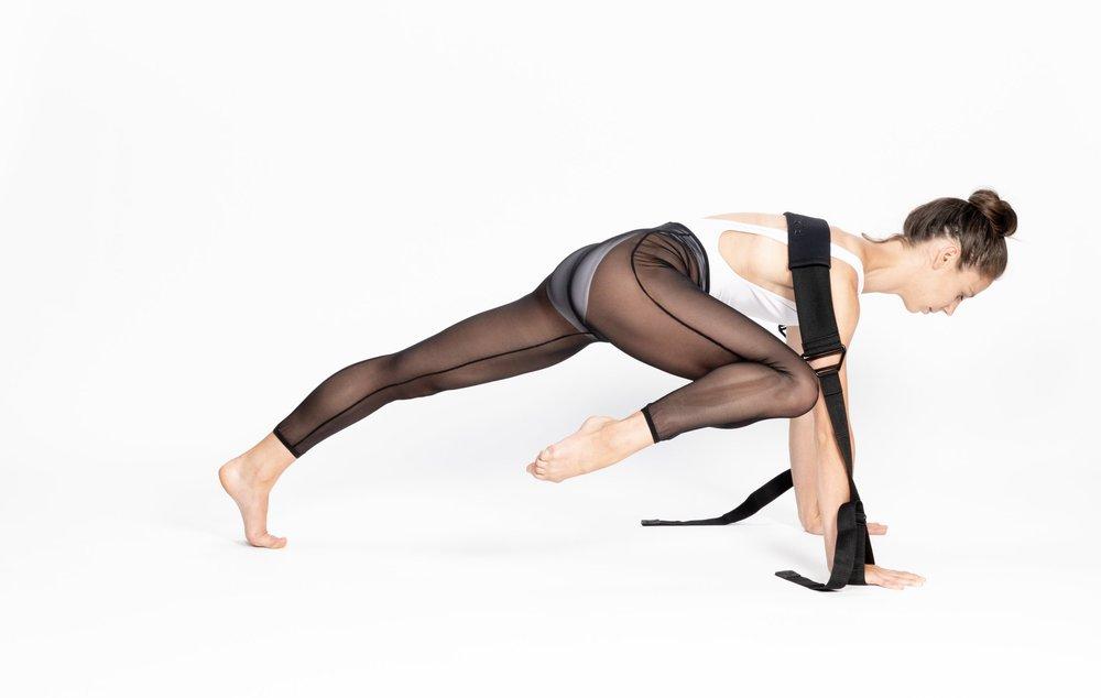 Rein Short - Flexistretcher Yoga -  knee to elbow