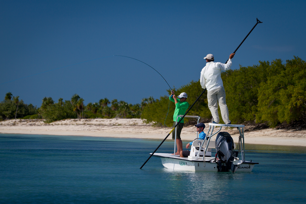 Fly Fishing for Bonefish, Jardines de la Reina, Cuba