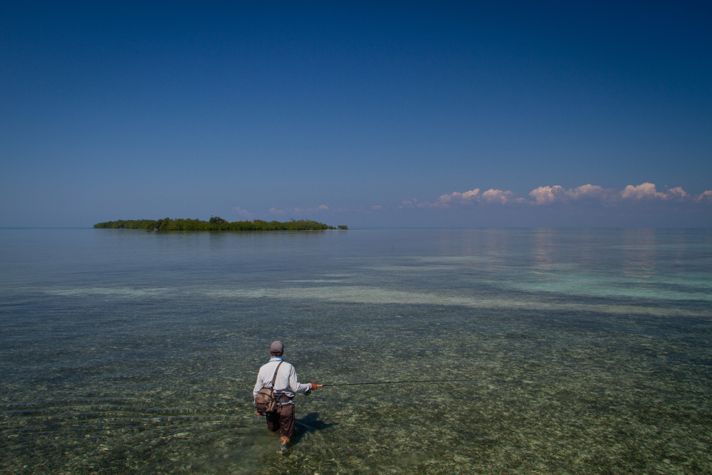 Fly Fishing for Permit, Jardines de la Reina, Cuba