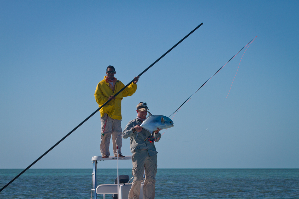 Fly Fishing for Permit,Cayo Largo, Cuba