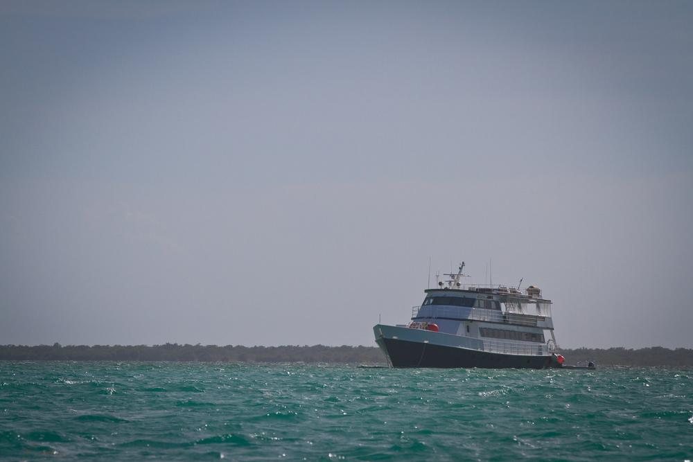 AF1 at anchor
