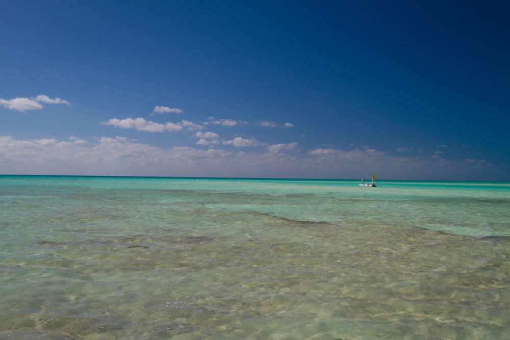 The Bonefish flats at Cayo Largo are stunning
