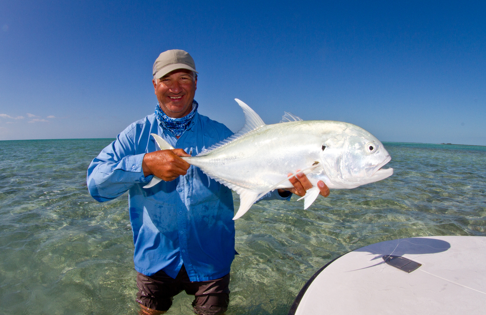 A nice Jack caught in one of the channels near Cayo largo, Cuba