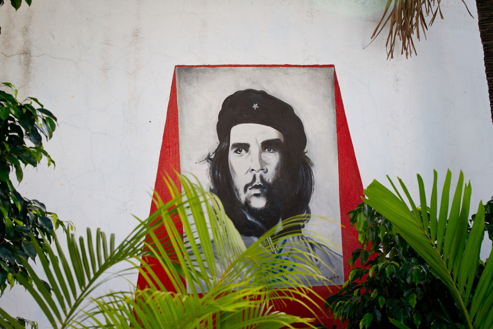 Image of Che in the Vedado neighborhood