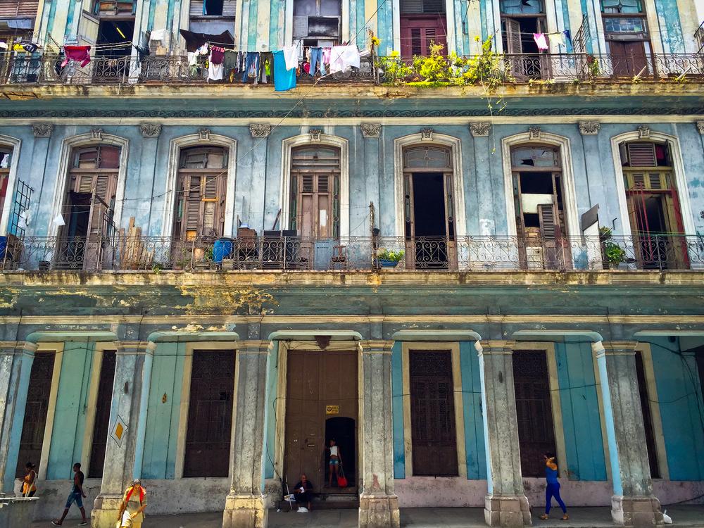 Street scene from Havana, Cuba