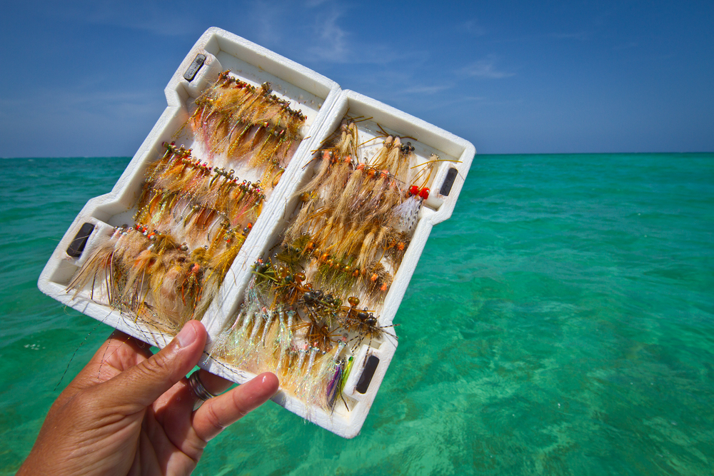 $600 worth of Bonefish & Permit flies, Cayo Cruz, Cuba