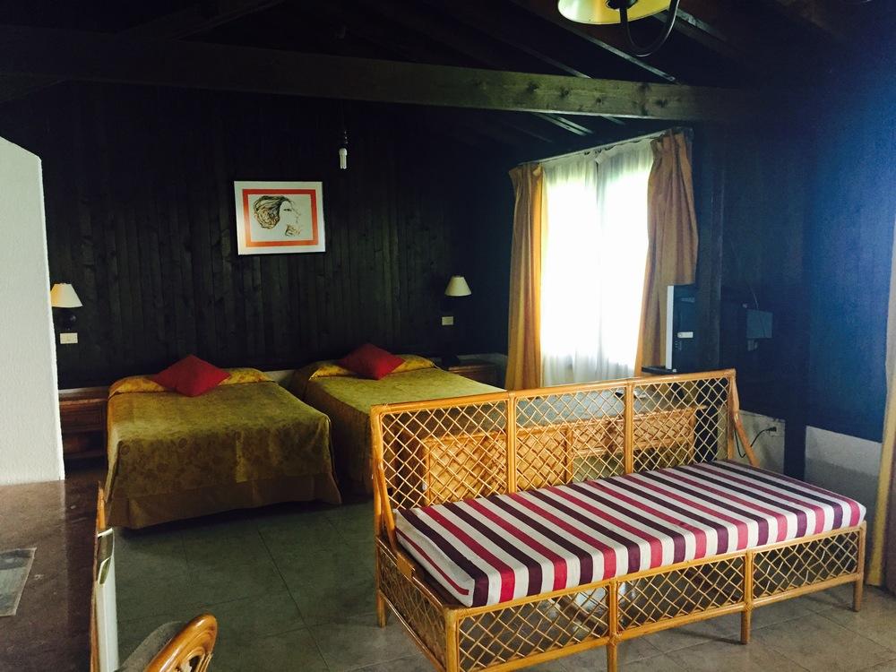 A room at Villa Las Brujas, Cayo Santa Maria, Cuba