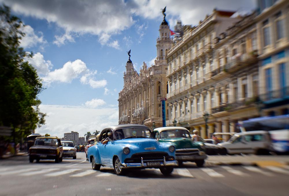 Old Cars, Parque Centrale, Havana Cuba